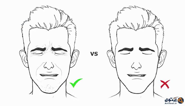 آموزش طراحی حالت گریه چهره   آموزش نقاشی چهره گریان  طراحی حالات گریه چهره   نقاشی حالات چهره   آرت تول   Arttool   طراحی حالات چهره   نقاشی چهره گریان   طراحی دیجیتال