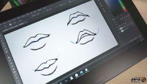 آموزش طراحی لب | آموزش نقاشی لب | دیجیتال پینت لب | طراحی دیجیتال لب | آموزش طراحی و نقاشی | آموزش نقاشی از پایه | آرت تول