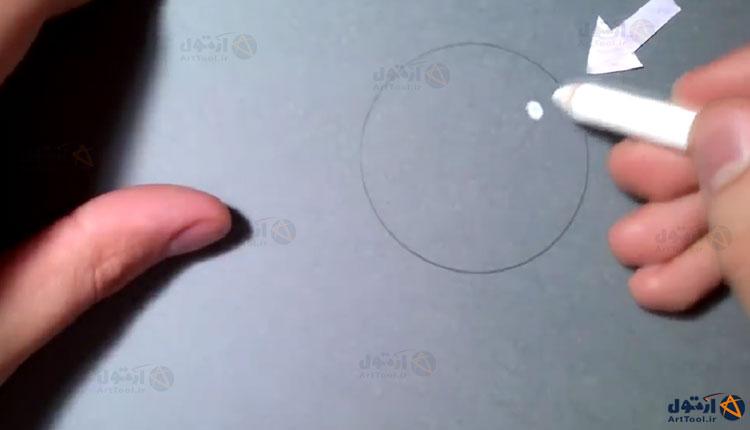 آموزش طراحی گوی شیشه ای   آموزش طراحی حباب شیشه ای   طراحی حباب   آموزش طراحی   طراحی   آموزش نقاشی   طراحی دایره   اموزش طراحی
