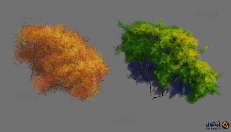 آموزش طراحی برگ   آموزش طراحی برگ درخت   آموزش طراحی برگ و بوته   آموزش نقاشی دیجیتال برگ   آموزش نقاشی دیجیتال برگ درخت   آموزش نقاشی   آموزش طراحی   آموزش طراحی بوته