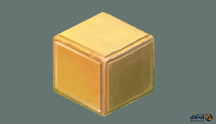 آموزش طراحی ایزومتریک جعبه معما | طذاحی ایزومتریک | جعبه دو نیم بعدی | دونیم بعدی