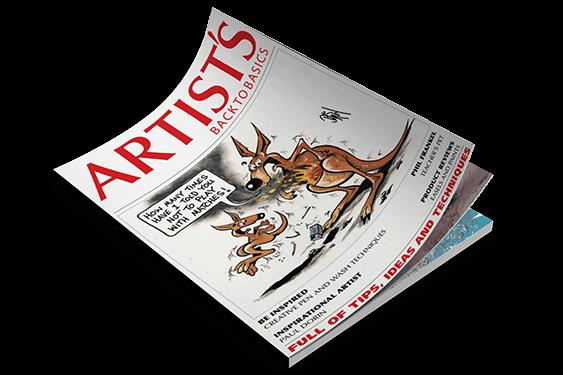 مجله تخصصی طراحی و نقاشی | مجله نقاشی دیجیتال | مجله Artists Back to Basics magazine