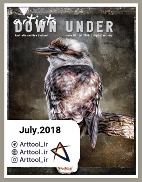 Artists-Down-Under-July-2018-دانلود-مجله-طراحی