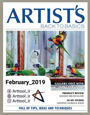 Artists back to basics February 2019 دانلود مجله طراحی | نقاشی دیجیتال
