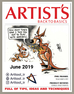 Artists back to basics June 2019 دانلود مجله طراحی | نقاشی دیجیتال