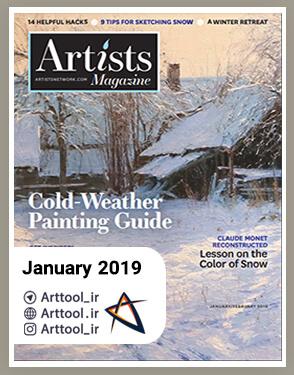 January 2019 The Artist Magazine دانلود مجله طراحی | نقاشی دیجیتال