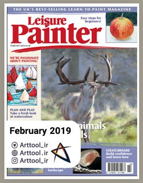 Painter February 2019 دانلود مجله طراحی