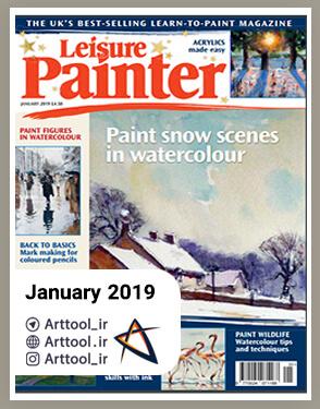 Leisure Painter January 2019 دانلود مجله طراحی