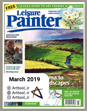 Painter March 2019 دانلود مجله طراحی