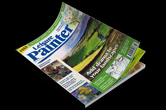 مجله تخصصی طراحی و نقاشی | مجله نقاشی دیجیتال | مجله Leisure Painter magazine