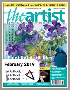 TheArtist February 2019-دانلود مجله طراحی - نقاشی دیجیتال