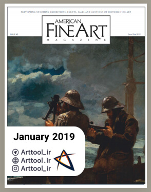 american art Junuary 2019 دانلود مجله طراحی