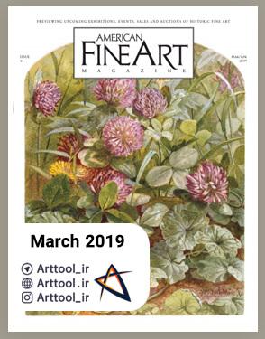 american art March 2019 دانلود مجله طراحی