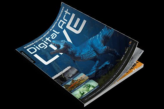 مجله تخصصی طراحی و نقاشی | مجله نقاشی دیجیتال | مجله Digital art live